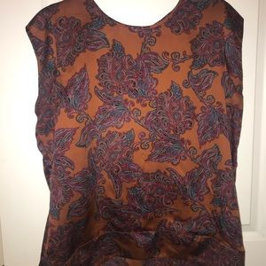 Rustic colored blouse